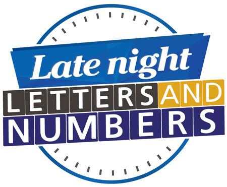 Late Night Letters and Numbers