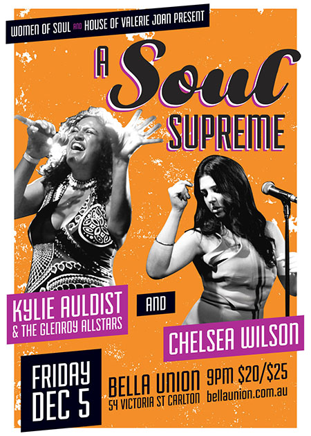 A Soul Supreme with Kylie Auldist & Chelsea Wilson