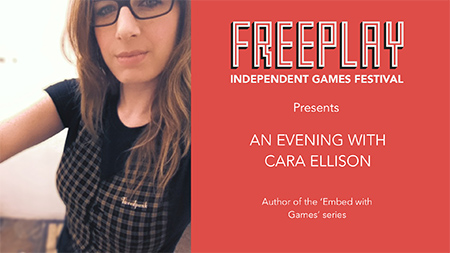 An Evening with Cara Ellison