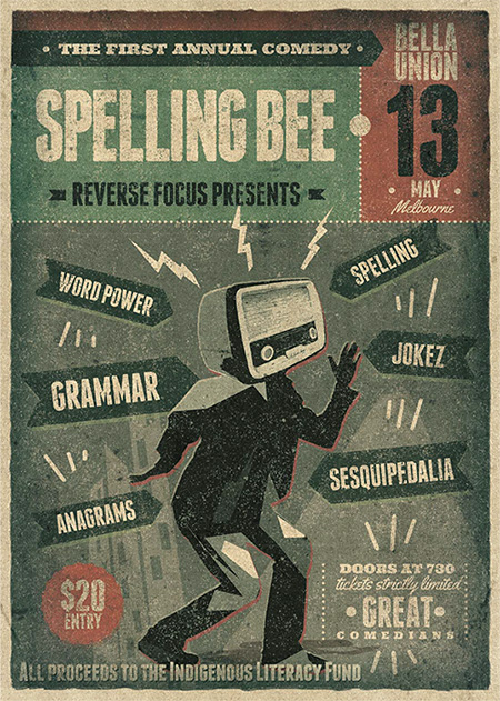 The Inaugural Annual Comedy Spelling Bee